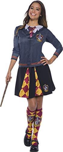 Rubie's Offizielles Damen Harry Potter Kostümoberteil, 821144, Gryffindor, M