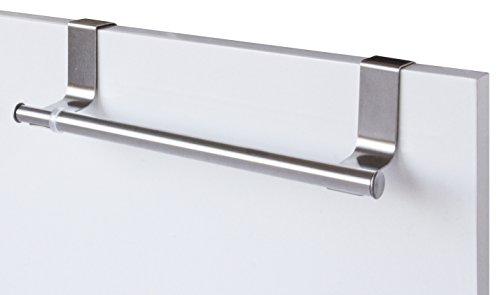 Gelco Design 707471 Porte Serviettes, INOX Brosse, 3,5 x 25 x 18 cm