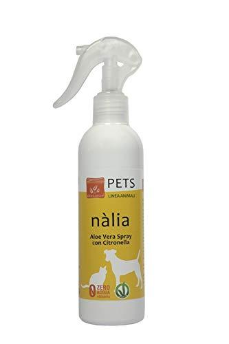 Benessence - Nalia Spray con Citronella ed Aloe Vera per cani e gatti - 250 ml