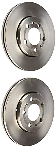 Brembo 09.7011.14 - Discos de Frenos, 25,5 mm, diámetro 256 mm, diámetro de centrado 65 mm, altura total 36,5 mm 2 unidades