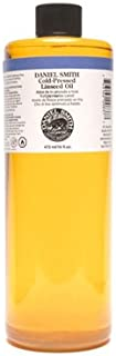 Daniel Smith 284470007 Original Oil, Cold-Pressed Linseed Oil, 16oz