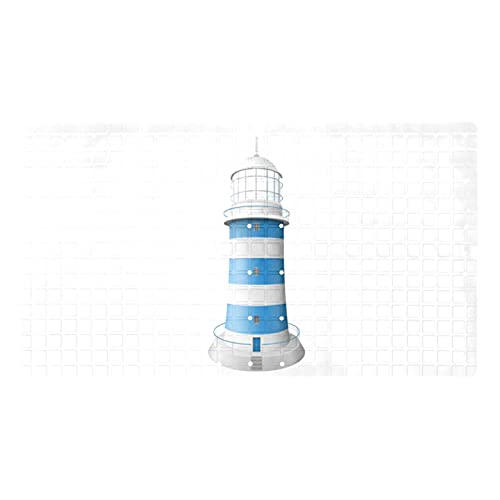 Bath Mat Non-Slip Light Blue Lighthouse Suction Cups Best Durable and Stylish in Bath Mats Anti-Slip Shower Mat with Modern Design Quality Suction Cups 15.7x27.9 in