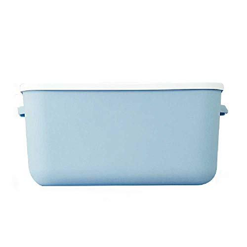 POIR Simple Toy Storage Box Can Store Clothes With Lid Storage Box Bubble blue