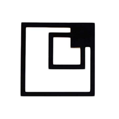 WTL Lighting - Aplique de pared para dormitorio, lámpara de noche, simple estudio moderno, arte creativo, salón, pasillo, dormitorio, águila, lámpara de interior, lámpara LED (color negro)