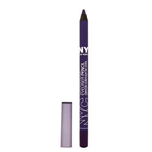 NYC City Proof 24 Hour Waterproof Eyeliner, Smokey Plum by NYC