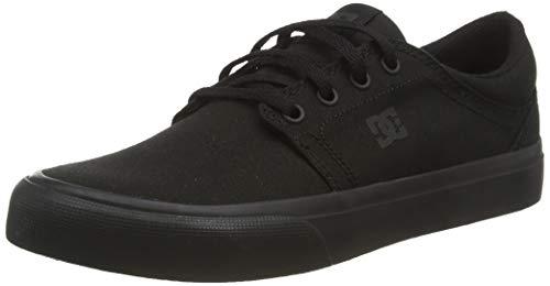 DC Shoes Herren Trase Tx Low-top Sneaker, Schwarz (Black/Black/Black 3bk), 42 EU