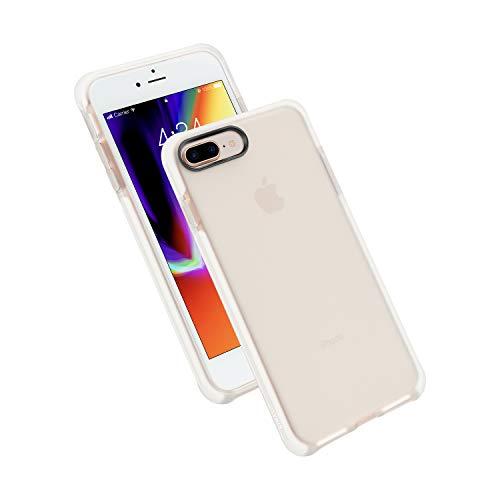 Nimaso iPhone 8 Plus/iPhone 7 Plus 5.5 インチ 用保護ケース 【米軍MIL規格取得】耐衝撃 Qi充電対応 ガラスフイルムに干渉せず【ホワイト】