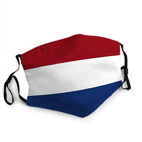 Wiederverwendbarer Gesichtsschutz Mundschutz Königreich der Niederlande Flagge