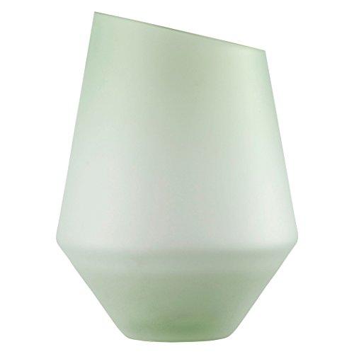 Zwiesel 1872 Vase, Glas, grün, 21.5 x 21.5 x 23 cm