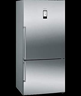 Siemens Bottom Freezer Refrigerator, INOX-KG86NAI30M, 1 Year Warranty