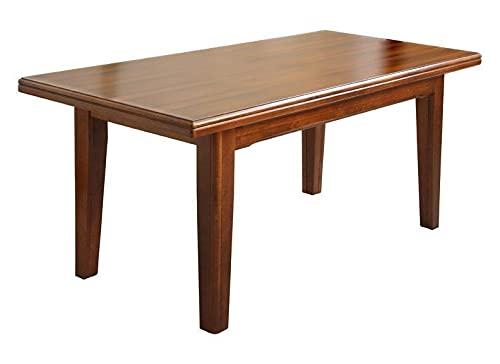 Arteferretto Table à rallonge en Bois Massif