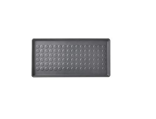 IKEA BAGGMUCK Tapis à chaussures Intérieur/extérieur Gris 71 x 35 cm
