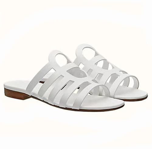 TYPING Zapatos Planos Sencillos Mujer Sandalias Zapatillas Mujer Playa De Moda De...