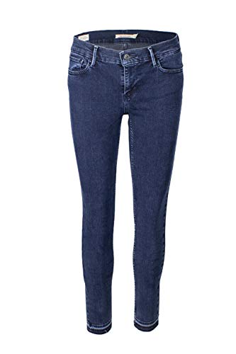 Levis Dames Jeans 710 SUPER Skinny 17780-0042 Donkerbouw Ski Lodge