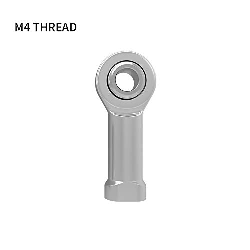 RainBabee 3D Druckerzubehör M3 / M4 Fisheye Lager Gewinde Fischaugenstangenenden Gelenk 3D Druckerteil