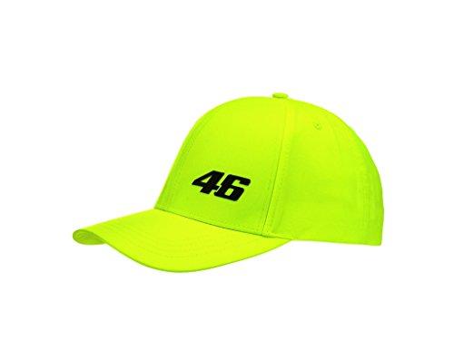 VR46 Cap Core Small Baseball VR|46 Rossi MotoGP Kappe Official Racing Apparel, Fluo Yellow
