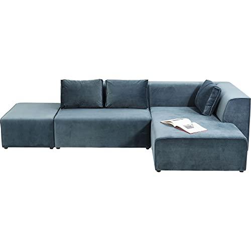 Kare Design Sofa Infinity Ottomane Rechts Samt Ocean