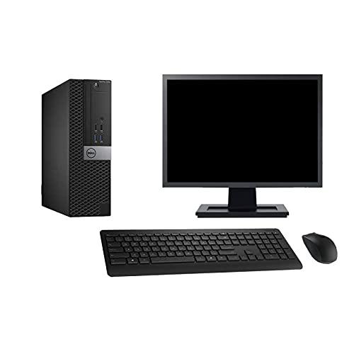 Dell PC 5040 SFF - Ordenador de sobremesa (pantalla de 22', 8 GB, 2 TB, HDMI, Windows 10 Wi-Fi)