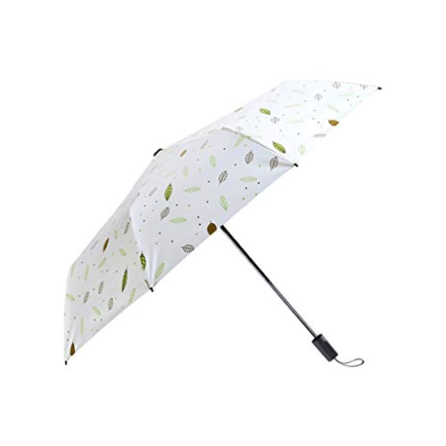 Best Deals! Jian Foldable Rain and Rain Dual-use Umbrella Compact and Light Rain and Snow-Proof Umbr...