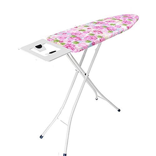 BGROESTWB Tabla de Planchar Tablero de Planchado con Manga de Tablero de Planchado Soporte de Unidad de Vapor Casa (Color : Pink, Size : One Size)