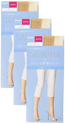[グンゼ] SABRINA Cool (サブリナ クール) ひざ下丈ショートストッキング〈同色3足組〉 レディース SBS470 ...