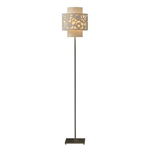 Lámpara De Pie Creativa 58.9' Lámpara de pie, Moderno LED de luz del piso de polipropileno Shade acero inoxidable poste alto de la lámpara de pie for el dormitorio de estar Oficina de habitaciones Luz