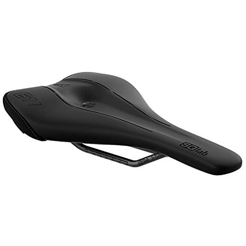 SQlab Unisex– Erwachsene 611 Ergowave Active 2.1 MTB Tech & Trail Fahrradsattel, Schwarz, 15 cm