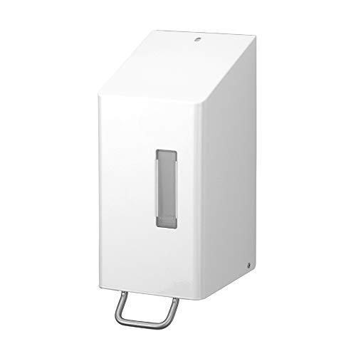 OPHARDT Hygiene 225300 SanTRAL NSU 30-3 P Weiß Seifenspender, 3000 ml, Edelstahl