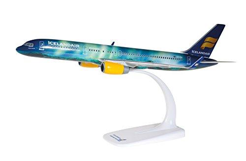 Herpa 610735–icelandair Boeing 757–200Hekla Aurora, Aereo, Multicolore Blu