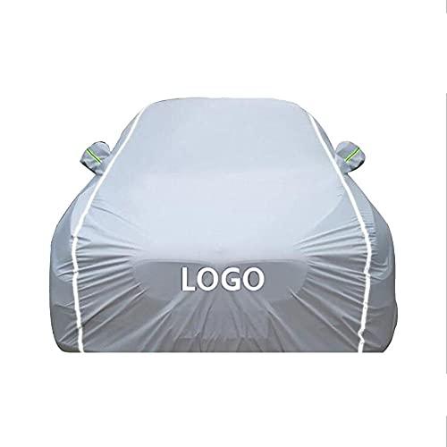 YGYDXMB Funda para Coche Compatible con Mercedes Benz C220 Amg, Impermeable Lona para Coche Cubierta Coche-algodón Plateado_Mercedes Benz C220 AMG