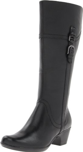 Hot Sale Clarks Women's Ingalls Vicky Boot,Black Leather,7 M US