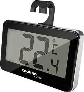 Britta Products Technoline Refrigerator Freezer Fridge Thermometer - Black