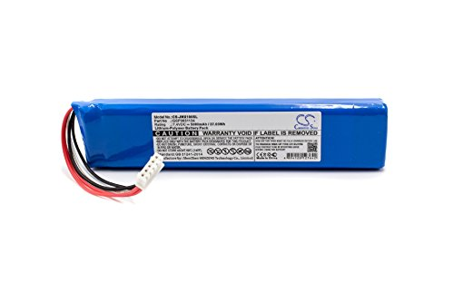 vhbw Akku kompatibel mit JBL Xtreme Bluetooth Lautsprecher Box - Ersatz für Gsp0931134 - (Li-Polymer, 5000mAh, 7.4V) - Ersatzakku, Batterie