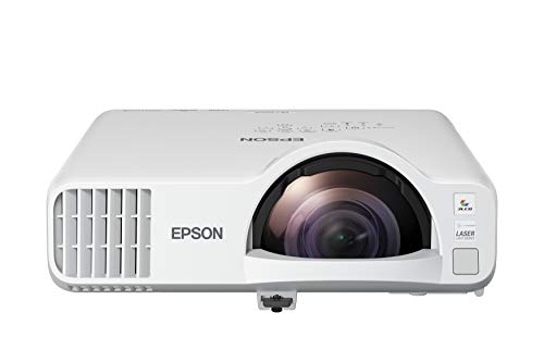 Epson PowerLite L200SW WXGA 3LCD Short-Throw Laser Display with Built-in Wireless and Miracast
