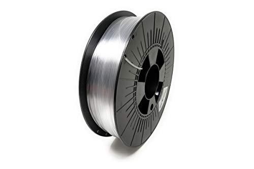 Digitalrise® PETG ø1.75mm 3D Printer Filament, Color: Transparent - Made in EU at The Best Price!