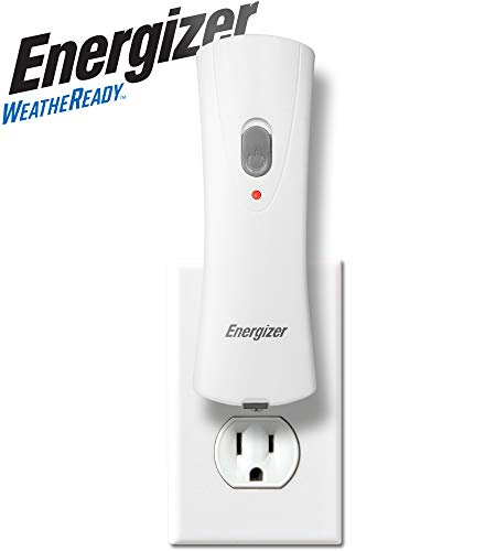 Energizer Compact Rechargeable Emergency LED Flashlight, Plug-in Power Outage Light, Portable...