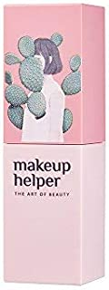 Makeup Helper Semi Matte lipstick - Long Lasting Soft Fit (#008 Cinnamon Beige with My Catus Design)