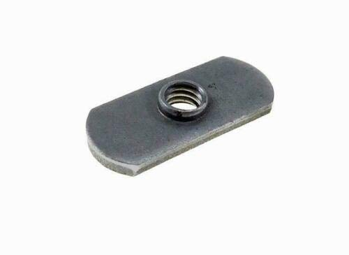 Pack of 10 Double Tab Center Hole Design Spot Weld Nuts M8 X 1.256H - Low-Carbon Steel