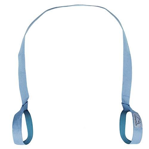CampTeck U6821 Correa Esterilla Yoga Poliéster 180cm x 3,8cm Eslinga Adjustable para Hombro, Pilates, Yoga, Ejercicios, Aeróbica, Colchoneta Fitness para Exteriores y Deporte - Azul