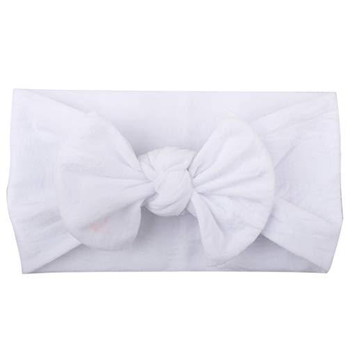 Lazzboy Neugeborenen Säugling Kleinkind Baby Mehrfarbiger Bogen Stirnband Haarband Headwrap Head Wraps verknotete Baby Stirnband Baby Top Knot, Baby Turban(U)
