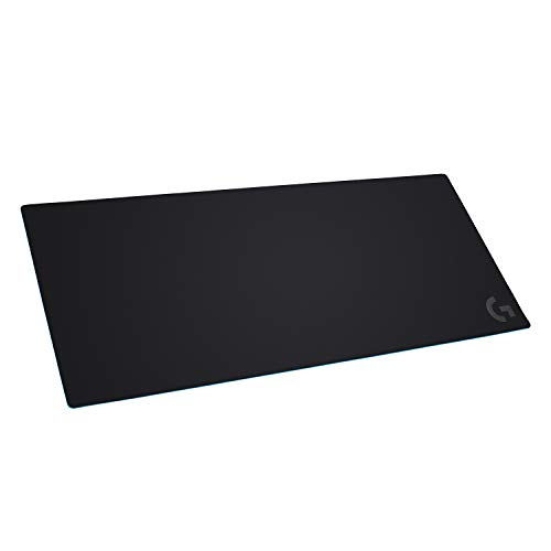 Logitech G840 Rubber Black – Mouse Pad (Black, White, 400 mm, 900 mm, 3 mm)