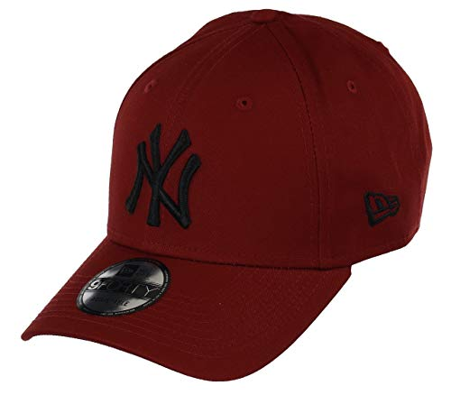 New Era New York Yankees 9forty Adjustable Cap League Essential Red/Black - One-Size