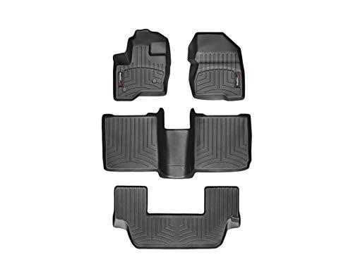 WeatherTech Custom Fit FloorLiner for Ford Flex -1st, 2nd, & 3rd Row (Black)