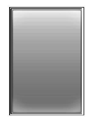 Locomoアウトドア薪ストーブ/オーブンストーブ用交換ガラス