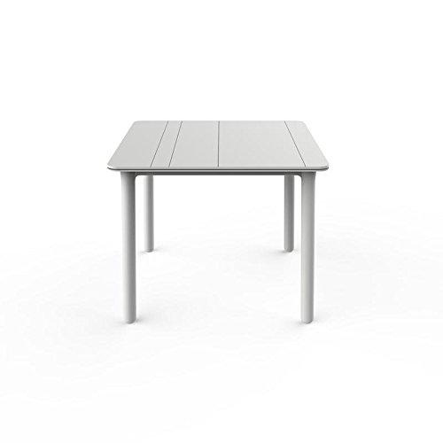 resol Mesa de jardín Exterior Cuadrada Noa 90x90 - Color Blanco