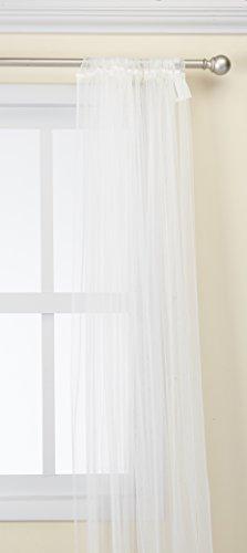Ikea 901.119.80 Lill Sheer 2 Panels 98 X 110 (1 Curtain Pair, White)