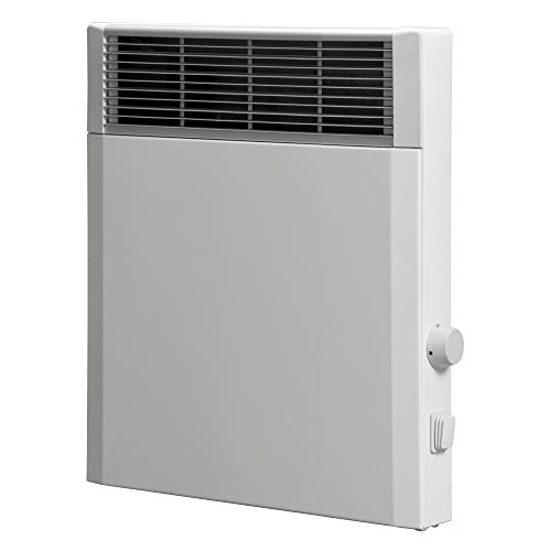 Elektroheizung, Heizkörper, Speicherheizung/Schamottespeicher mit integrierten Thermostat und Wandhalterung - 500 Watt - Maße: (BxH xT): 36cm x 44,5cm x 8,5cm