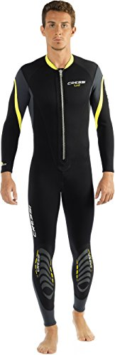 Cressi Lui All-in-one wetsuit - eendelig heren neopreen pak van neopreen 2,5 mm