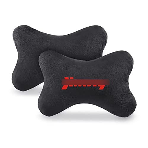 2 piezas Reposacabezas Coche para Suzuki Jimmy, Transpirable Almohada Coche Cuello, Suave, Cómodo Coche Cojín Almohada Cuello, Asiento de Viaje Almohada
