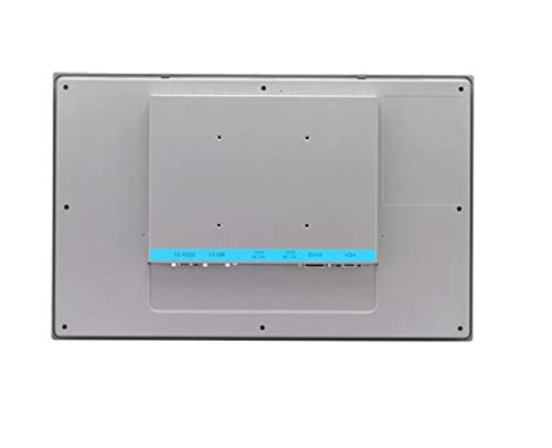 (DMC Taiwan) 18.5 inches Industrial Monitor with Projected Capacitive Touchscreen, Direct-VGA and DVI Ports